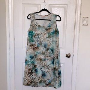 🇺🇸 Bryn Walker linen sleeveless dress, size M